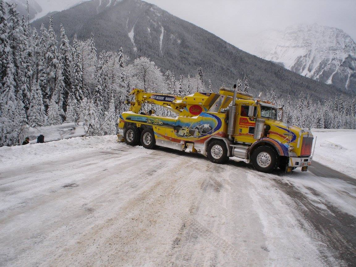 Towing in winter conditions